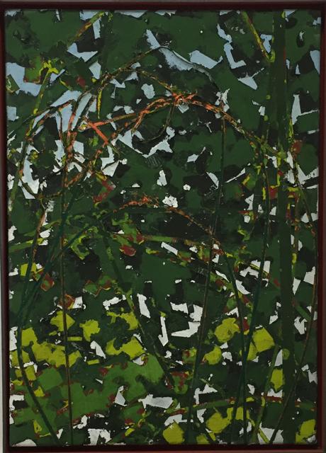 Mann-o-Mann-Manaus, 2013, Mischtechnik auf Leinwand, 70x50 cm