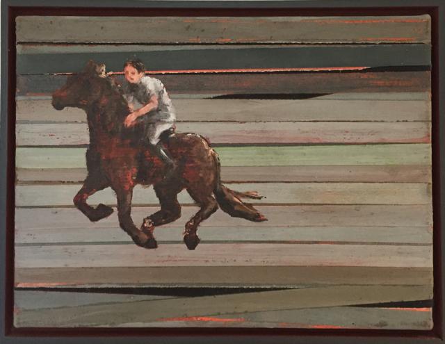Streethorsing, IV, 2007 30x40 cm