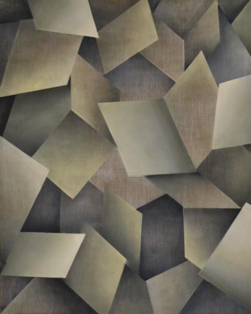 o.T. 2013 Öl u. Acryl auf Leinwand, 200x160 cm